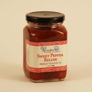 Riverstone Farm Kitchen Sweet Pepper Relish