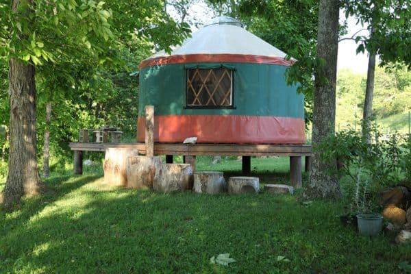 Farm Yurt