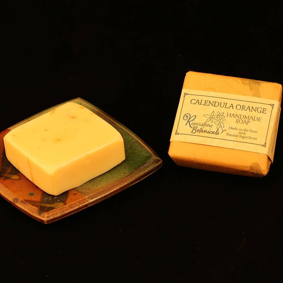 Riverstone Botanicals Calendula Orange Handmade Soap