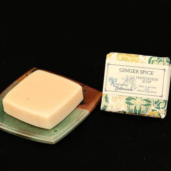 Riverstone Botanicals Ginger Spice Handmade Soap