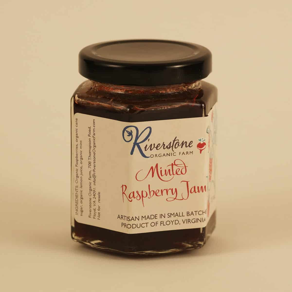 Riverstone Farm Kitchen Minted Raspberry Jam