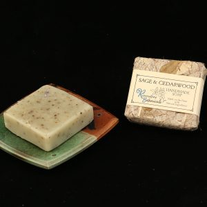 Riverstone Botanicals Sage and Cedarwood Handmade Soap
