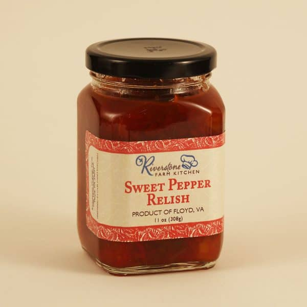 Riverstone Farm Kitchen Sweet Pepper Relish