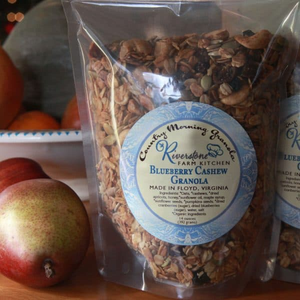 Riverstone Farm Kitchen Blueberry Cashew Granola