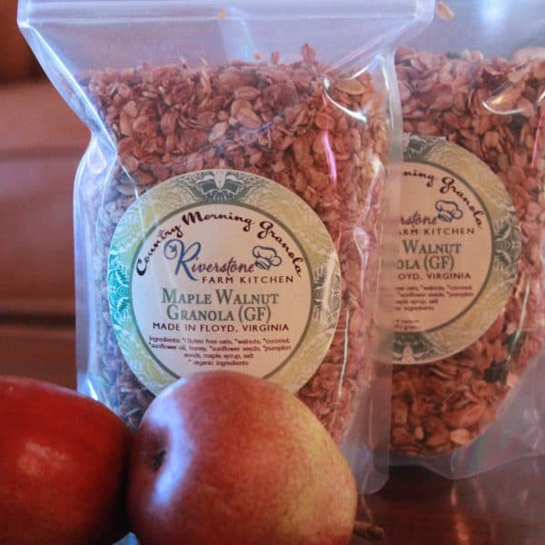 Riverstone Farm Kitchen Maple Walnut Granola