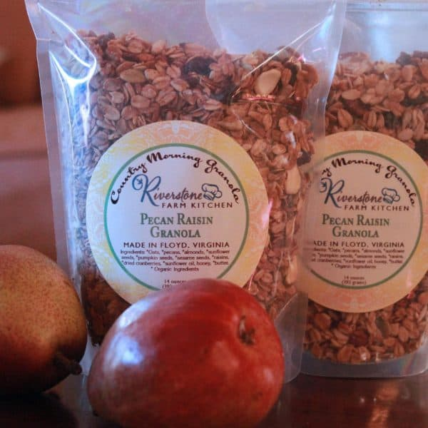 Riverstone Farm Kitchen Pecan Raisin Granola