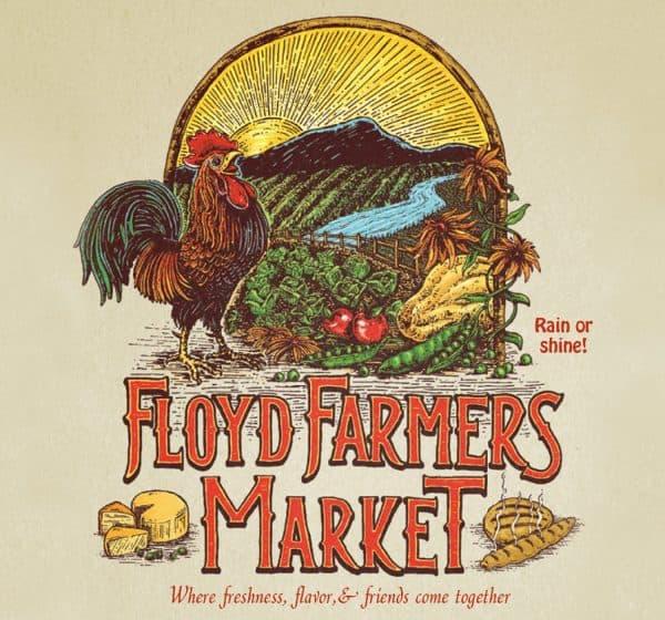 Floyd Farmers Market Poster